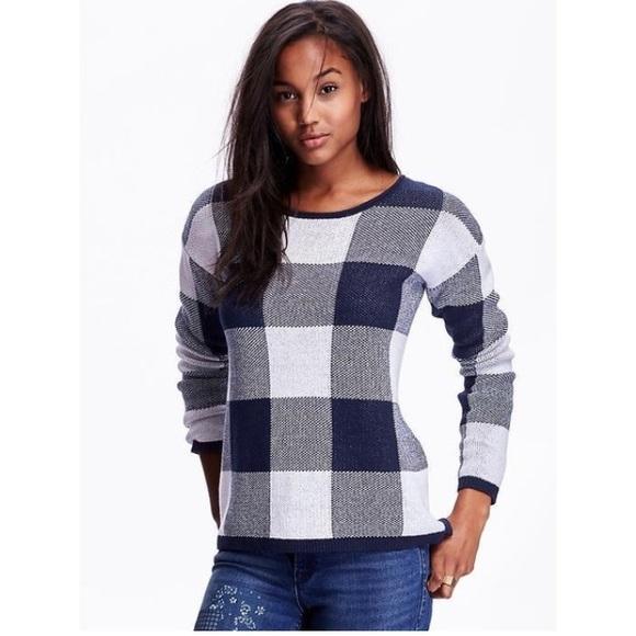 Buffalo Plaid Sweater Old Navy - Best Sweater 2018